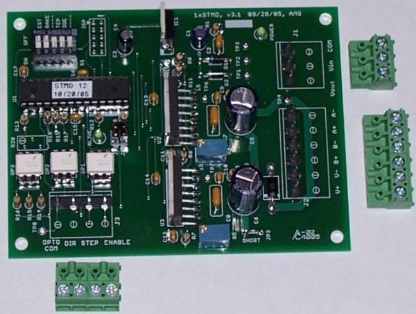 An AVR-Based Microstepping Bipolar Chopper Stepper Motor Driver (STMD)