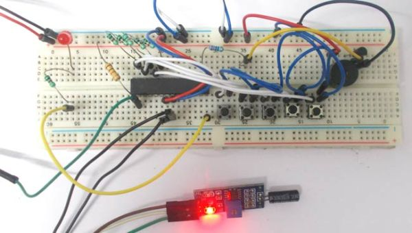 Anti-Theft Alert System using ATmega8 Microcontroller