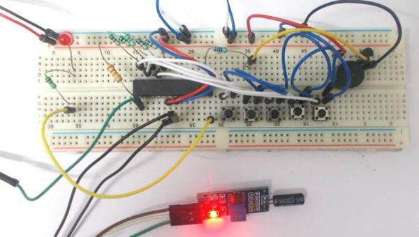 Anti-Theft Alert System using ATmega8 Microcontroller