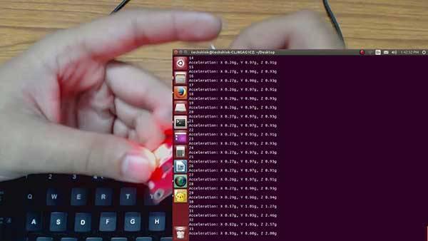 Scrolling Text Display on 8x8 LED Matrix using AVR Microcontroller