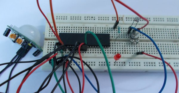 Rotary Encoder Interfacing with ATmega8 Microcontroller