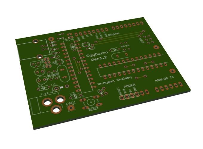 EGYDuino Arduino compatible board