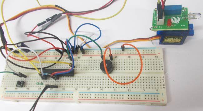 Fire Alarm System using AVR Microcontroller