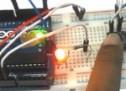 How to establish UART communication between ATmega8 and Arduino Uno?