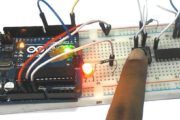 How to establish UART communication between ATmega8 and Arduino Uno?