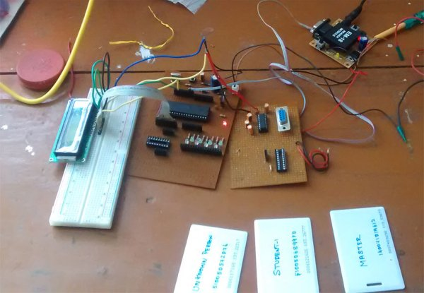 How to interface RFID with AVR ATmega32 microcontroller