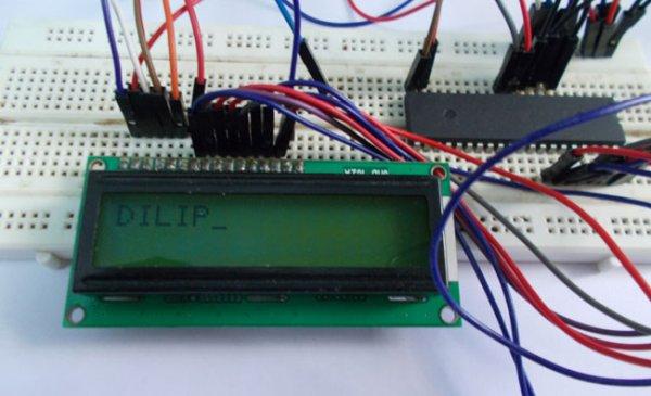 Interfacing LCD with ATmega32 Microcontroller