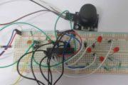 Joystick Interfacing with AVR Microcontroller