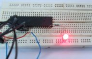 LED Blinking with ATmega32 Microcontroller