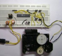 PWM Motor Driver with MOSFET H-Bridge and AVR ATmega8