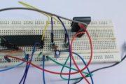 Power LED Dimmer using ATmega32 Microcontroller