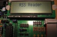 RSS Reader using AVR mega8