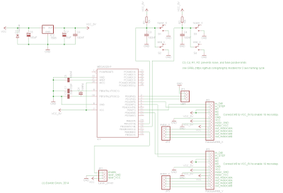 Schematic A DIY A4 Laser Engraver made from a scanner and a printer on ATmega328
