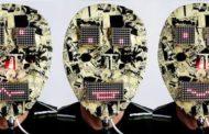 A led matrix Mask built on AVR ATmega8