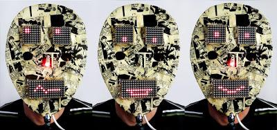 A led matrix Mask built on AVR ATmega8