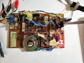 A simple brushless sensorless motor driver for AVR Atmega