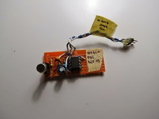 AVR Atmega audio input root mean square (RMS)