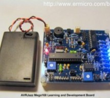 AVRJazz Mega168/328 Learning and Development Board