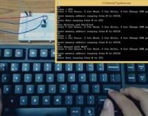 Atmega 32u4 Based USB EEPROM Reader