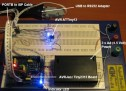 Atmel AVR ISP Microcontroller Programmer Project
