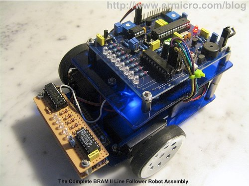 Build Your Own Microcontroller Based PID Control Line Follower Robot (LFR) – Second Part