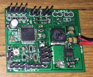 Custom PCB for Lights, Temperature, Video OSD and VTX PSU upgrades to HKing Rattler RC Car
