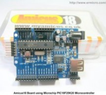 Developing Embedded Application with BASIC Language on the Microchip PIC18F Microcontroller using the Amicus18 Development system