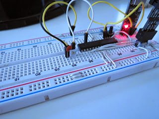 Irradiance/Illuminance Meter using TLR235R sensor with AVR Atmega
