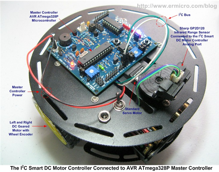 Motor Building the I2C Smart DC Motor Controller with Atmel AVR Microcontroller – Part 1