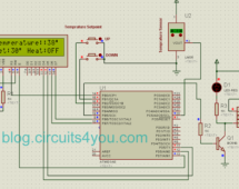 AVR Microcontroller based Temperature Monitoring and Control System