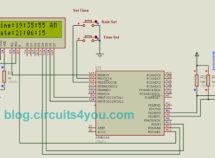 DS1307 RTC Interfacing with AVR microcontroller