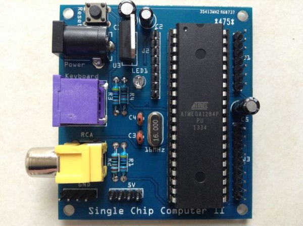 Single Chip Computer: Easy to Produce AVR BASIC Co