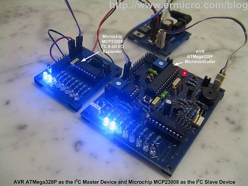 Transforming your AVR Microcontroller to the I2C or TWI Slave I-O Expander Project