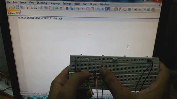 Atmega 32u4 Based Wireless USB Keyboard