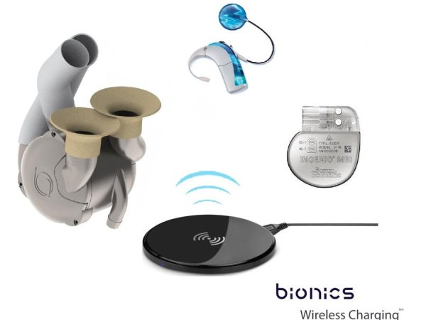Bionic Organs-Devices-Limbs Wireless Charging