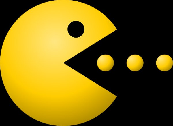 Creating Pac man custom patterns and animation in LCD display