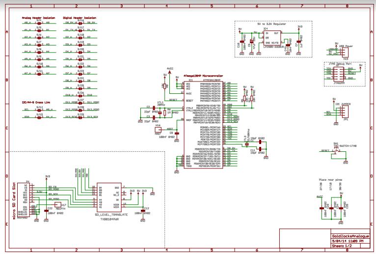 Schematic Goldilocks Analogue – Prototyping 3