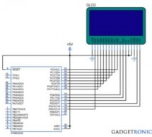 Tutorial on printing image in Graphical LCD (GLCD) using Atmega32