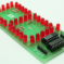 7 Segment LED Based SPI Display using 74HC595