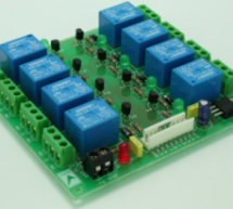 8 Channel Relay Board with onboard 5V regulator