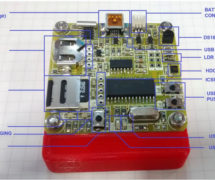 A full-featured, portable weather data recorder