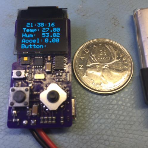 Atmel SAMD21G Sensor Board