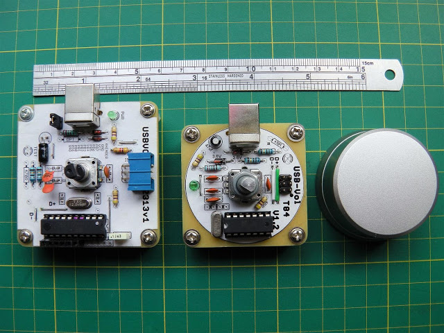 Attiny2313 & Attiny84 V-USB Media Volume Control
