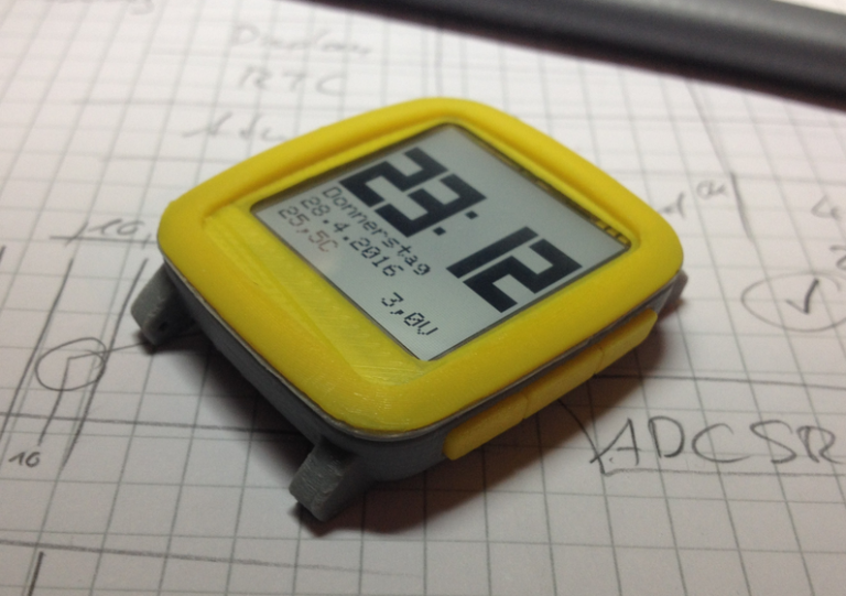 Chronio – Low power Arduino based (smart)watch