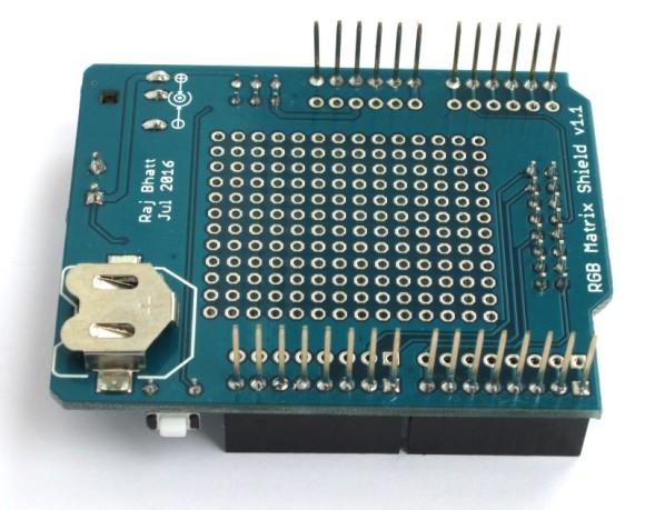 Circuit 16×32 RGB Matrix Panel Driver Arduino Shield