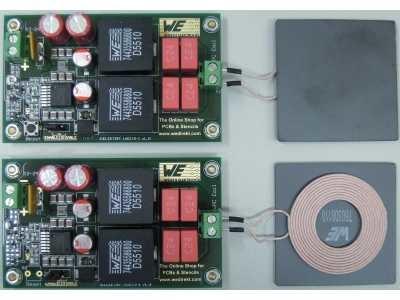 Circuit Enhanced Wireless High Power Transmission