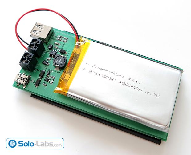 DIY USB 5V Solar Power Bank