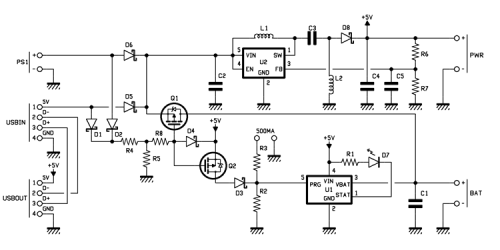 Diagram TORPEDO an all-purpose switched-mode power supply