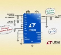 Dual input, 2.5A step-down DC/DC achieves 95% efficiency