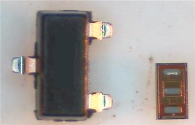 FemtoFET – 20V 500mA 0.6×0.7mm MOSFET From TI